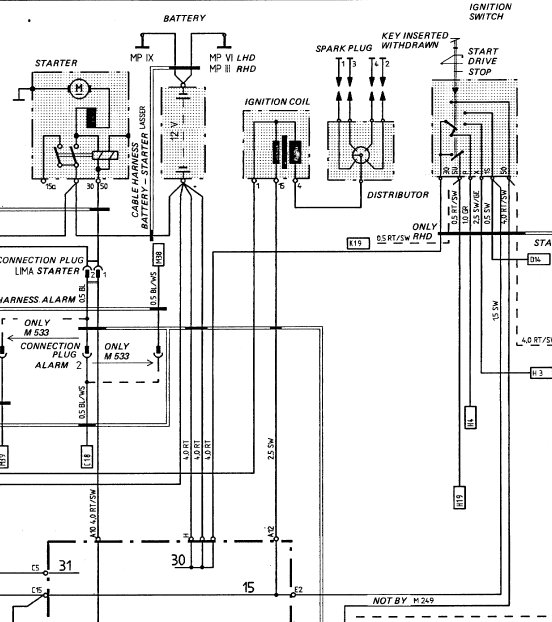 1979 Porsche 924 Wiring Diagram. Porsche. Wiring Diagrams