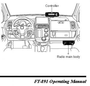 Yaesu FT-891 separation cables & bracket: same as FT-857D