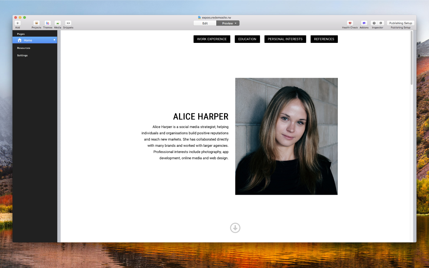 How To Make Your Own Resume Website Tutore