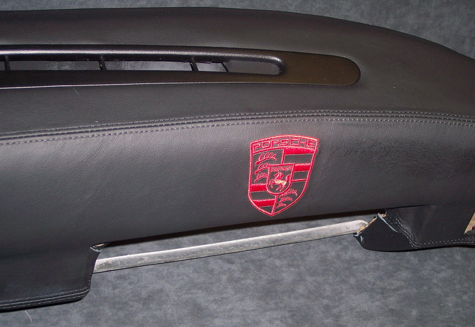 Custom Leather Dash Early 944 924 Speaker Delete