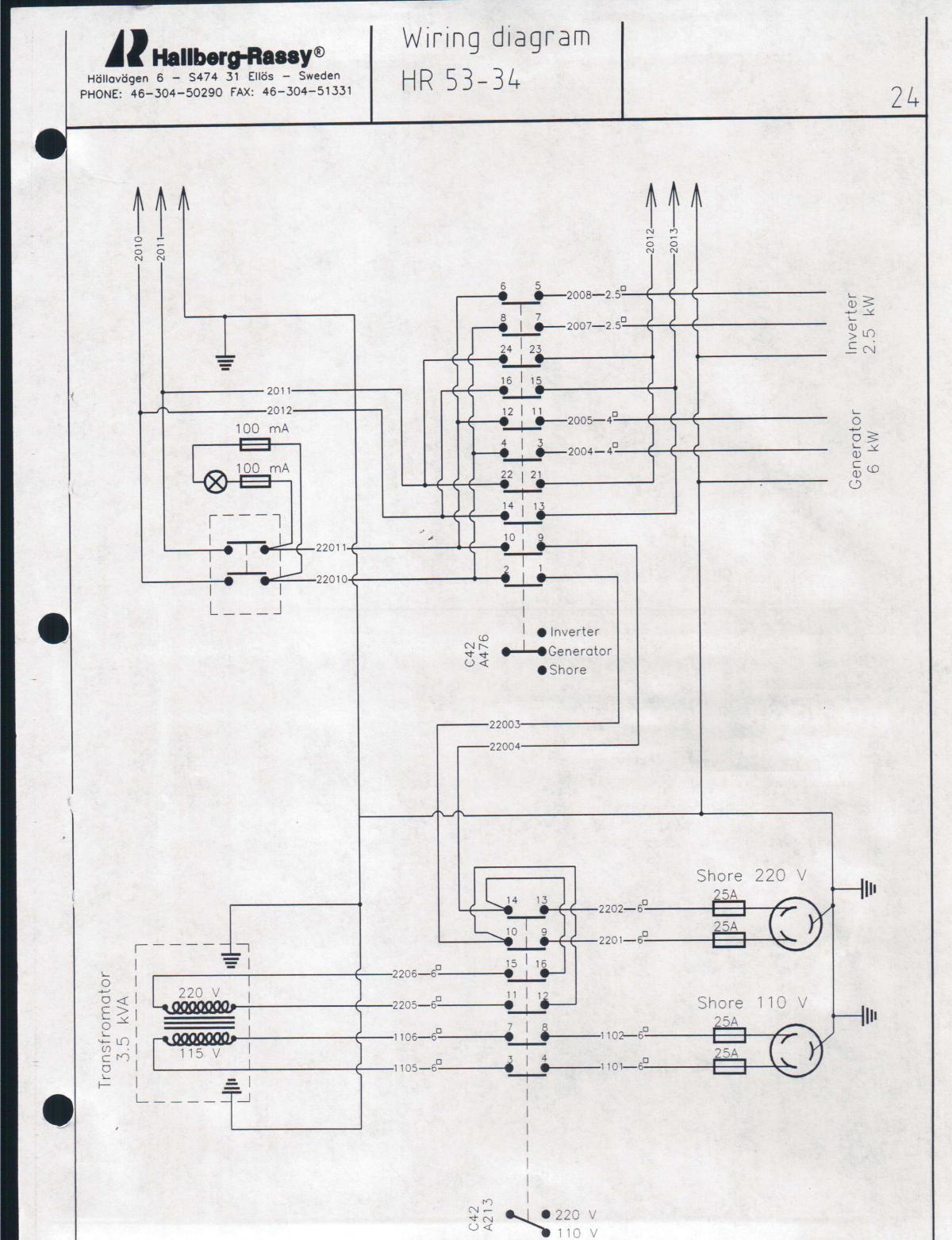 shore power wiring diagram 2003 dodge ram 1500 headlight european marina cruising anarchy