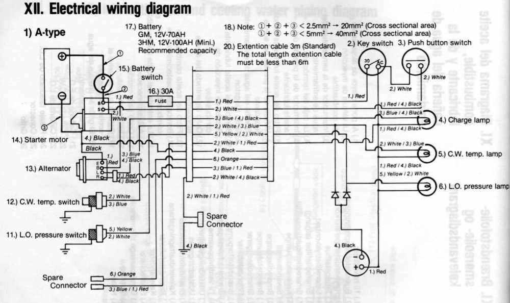 medium resolution of yanmar tractor wiring diagram wiring diagram centre yanmar tractor wiring diagram