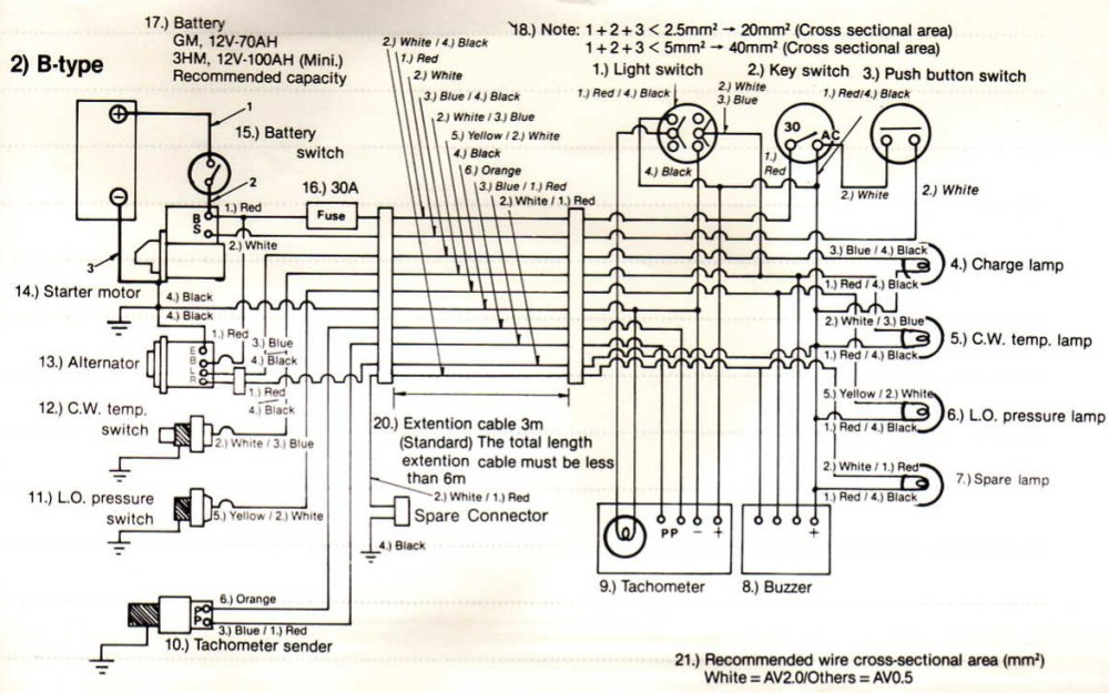 medium resolution of yanmar 1gm wiring diagram diagram data schema exp yanmar 1 gm wiring diagram