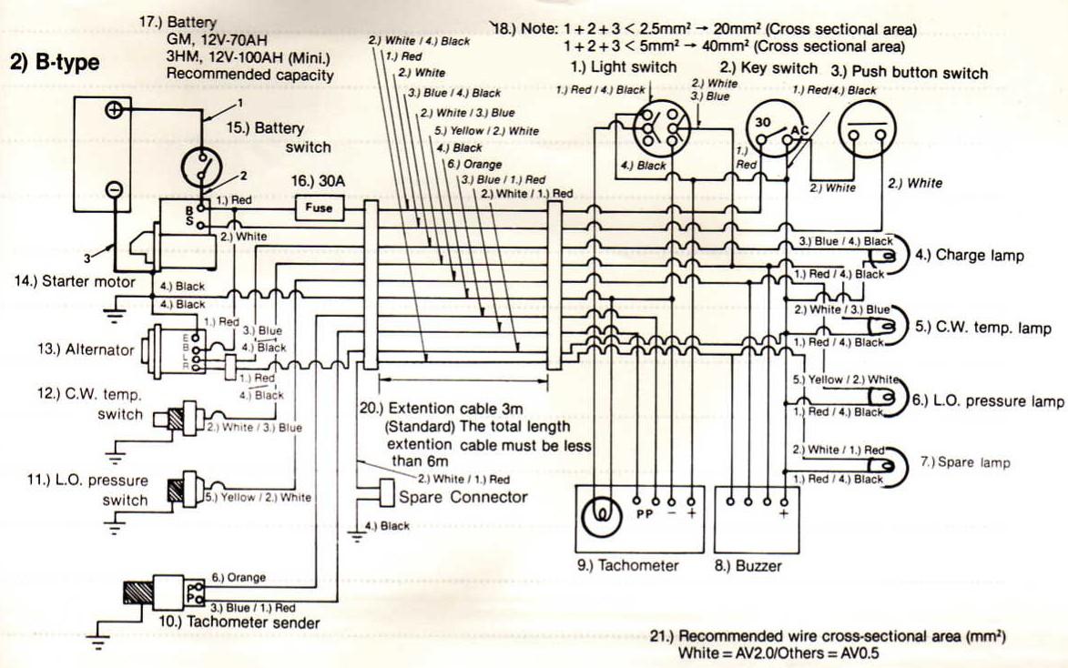 hight resolution of hitachi alternator 40 amp plug wiring most exciting wiring  diagram marine alternator wiring