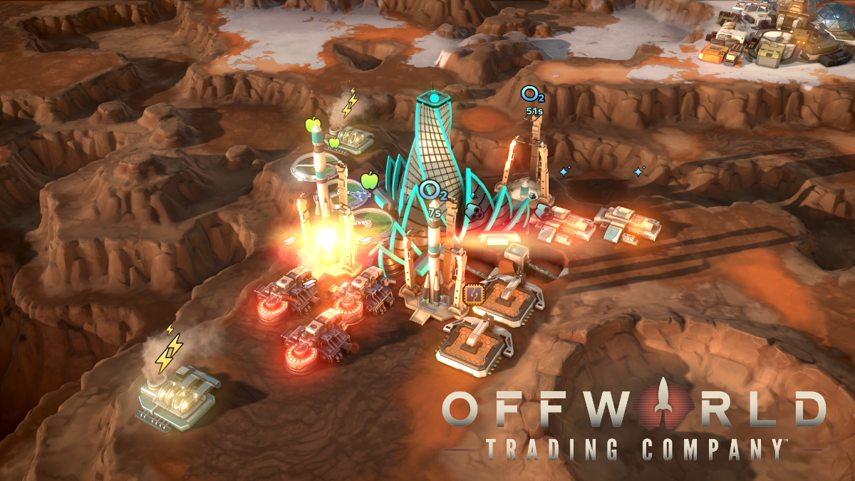 Stardock Animated Wallpaper Offworld Trading Company Journal Privatization Of Space