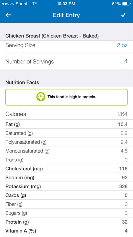 8 Oz Chicken Breast Calories : chicken, breast, calories, Chicken, Breast, Macros