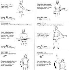 Chair Exercise For Seniors Handout Walmart Beach Chairs Rotator Cuff Exercises