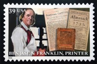 B. Franklin Stamp