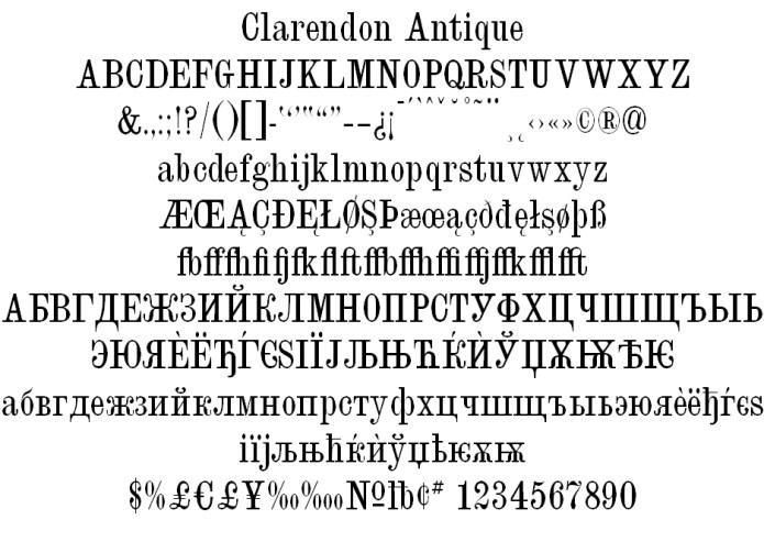 Clarendon-Antique-Condensed
