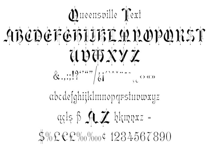 Queensville-Text