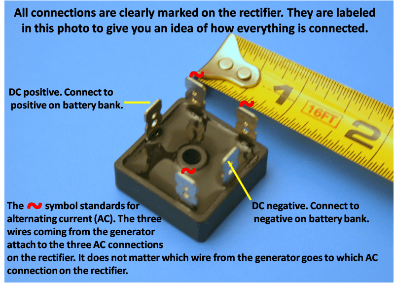 Bridge Rectifier Wiring Diagram
