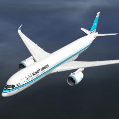 Kuwait Airways Airbus A350-900 - Aircraft Skins - Liveries - X-Plane.Org Forum