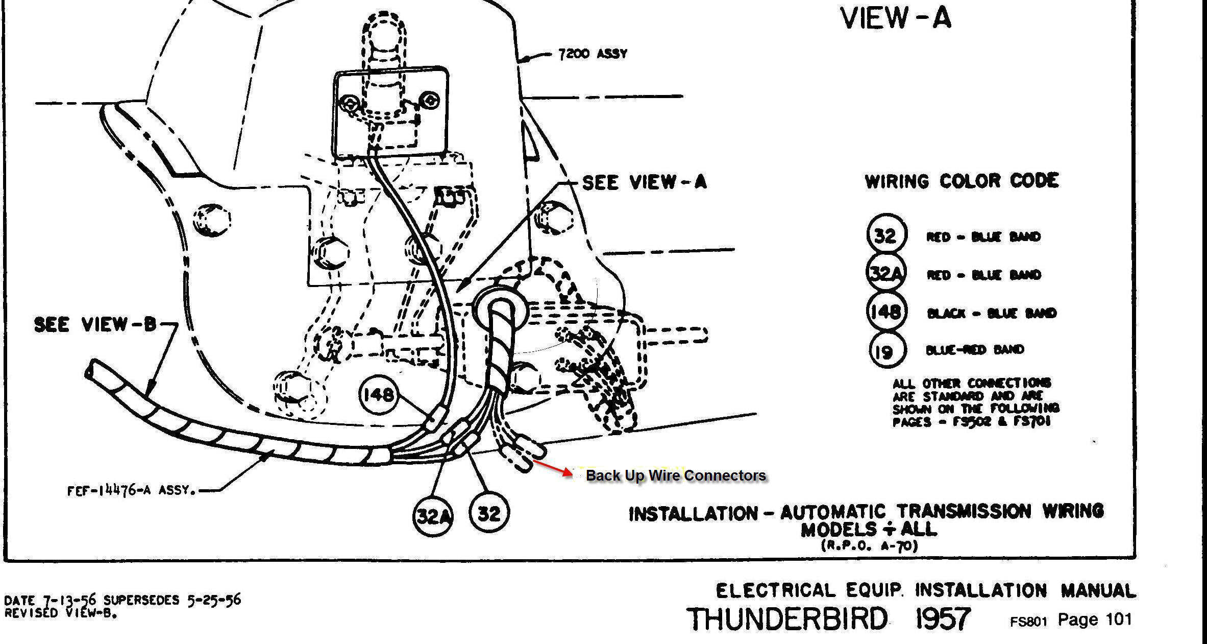 1952 ford customline wiring diagram