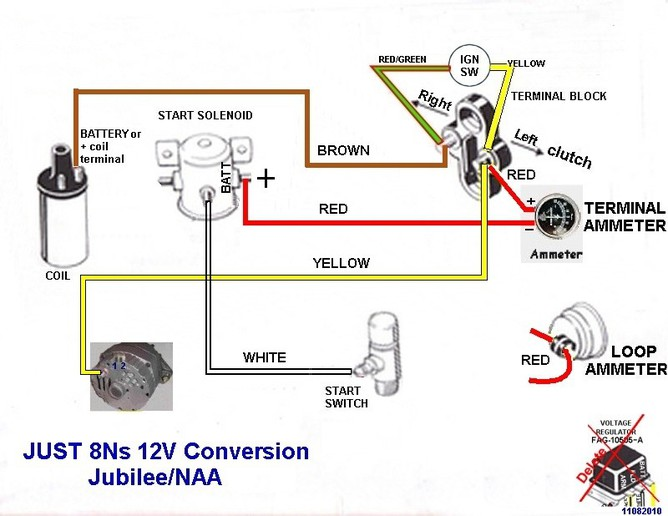 ford 9n 12v wiring diagram 4 way flat trailer and distributor has no power - 9n, 2n, 8n forum yesterday's tractors