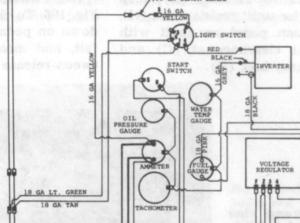 69 MF 135 Diesel gauges not working  Massey Harris
