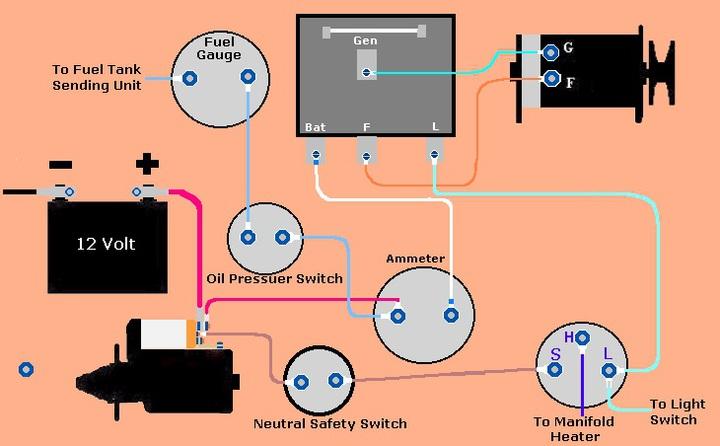 Massey Ferguson Wiring Diagram 135