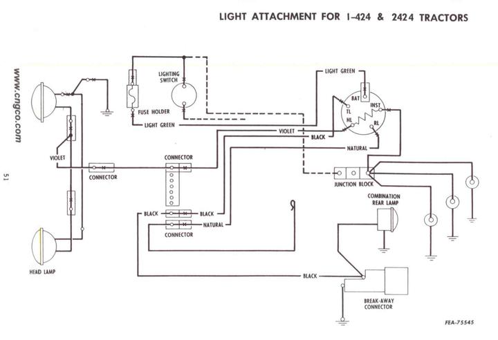 International 300 Ignition Wiring 6 volt to 12 volt