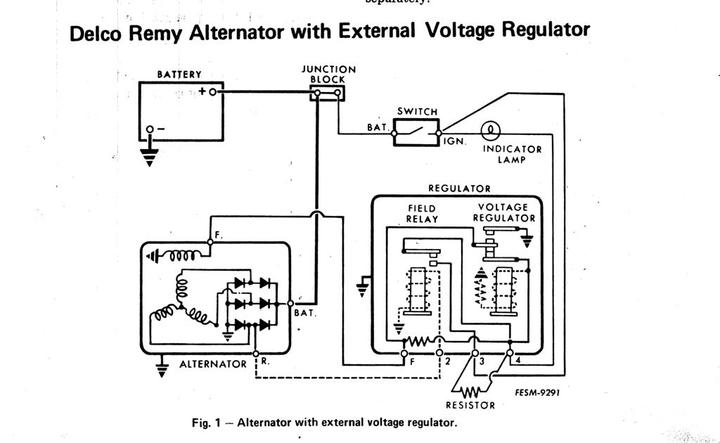 bosch internal regulator alternator wiring diagram eaton fuller transmission 806 flashing amp light.... - farmall & international harvester (ihc) forum yesterday's tractors