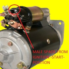 Ford 460 Distributor Wiring Diagram 3 Way Zone Valve Ignition Switch For 5000 Tractor 3000 ~ Elsavadorla