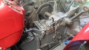 MF 135  Hydraulics DIY split tractor housing