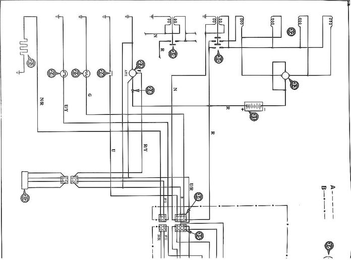 Printable Diesel Wiring Diagram 2600, 3600, 4100 & 4600