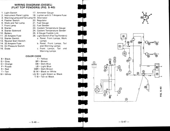 6100 generator wiring schematic