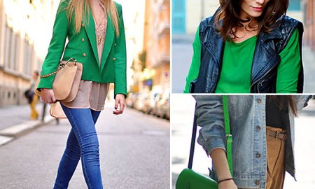 Wearing Bright Colors