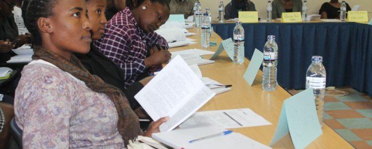 Activistas capacitadas em observação eleitoral