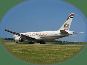 Etihad Cargo freighter fleet of Boeing 777 aircraft