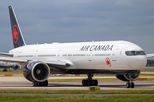 Air Canada B767 at London Heathrow Airport