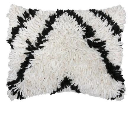 6. Black and white wool cushion, £55 - Rockett St George