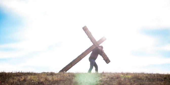 Take up your cross – FORWARD IN CHRIST