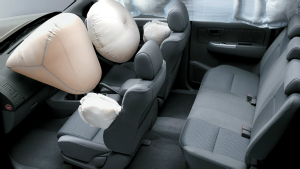 toyota-hilux-srs-airbags primary and curtain airbags make hilux very safe
