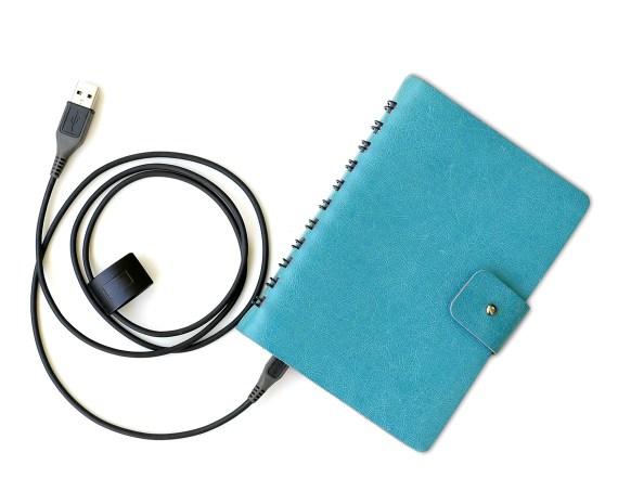 Libreta de espiral con un cable USB - Onenote