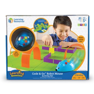 code and go robot mouse starter kit box