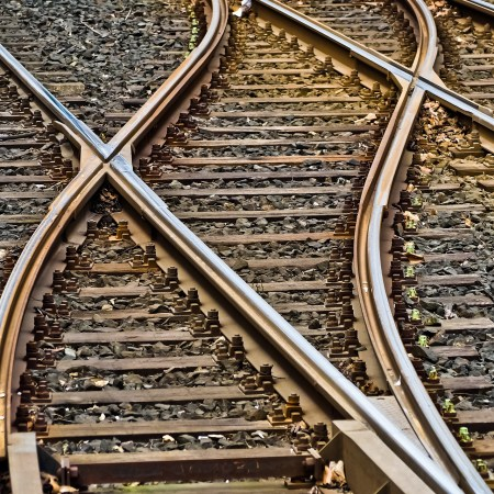 Intuition and moral theory (train tracks)