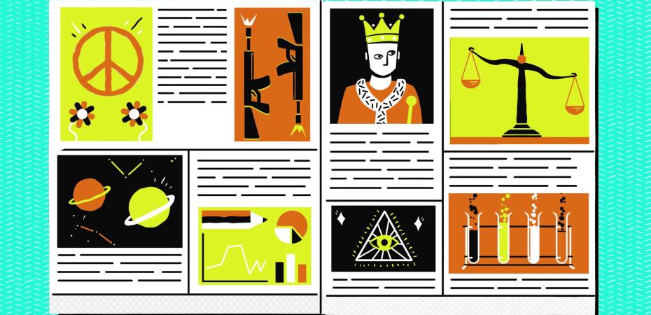 Philosophy animation still
