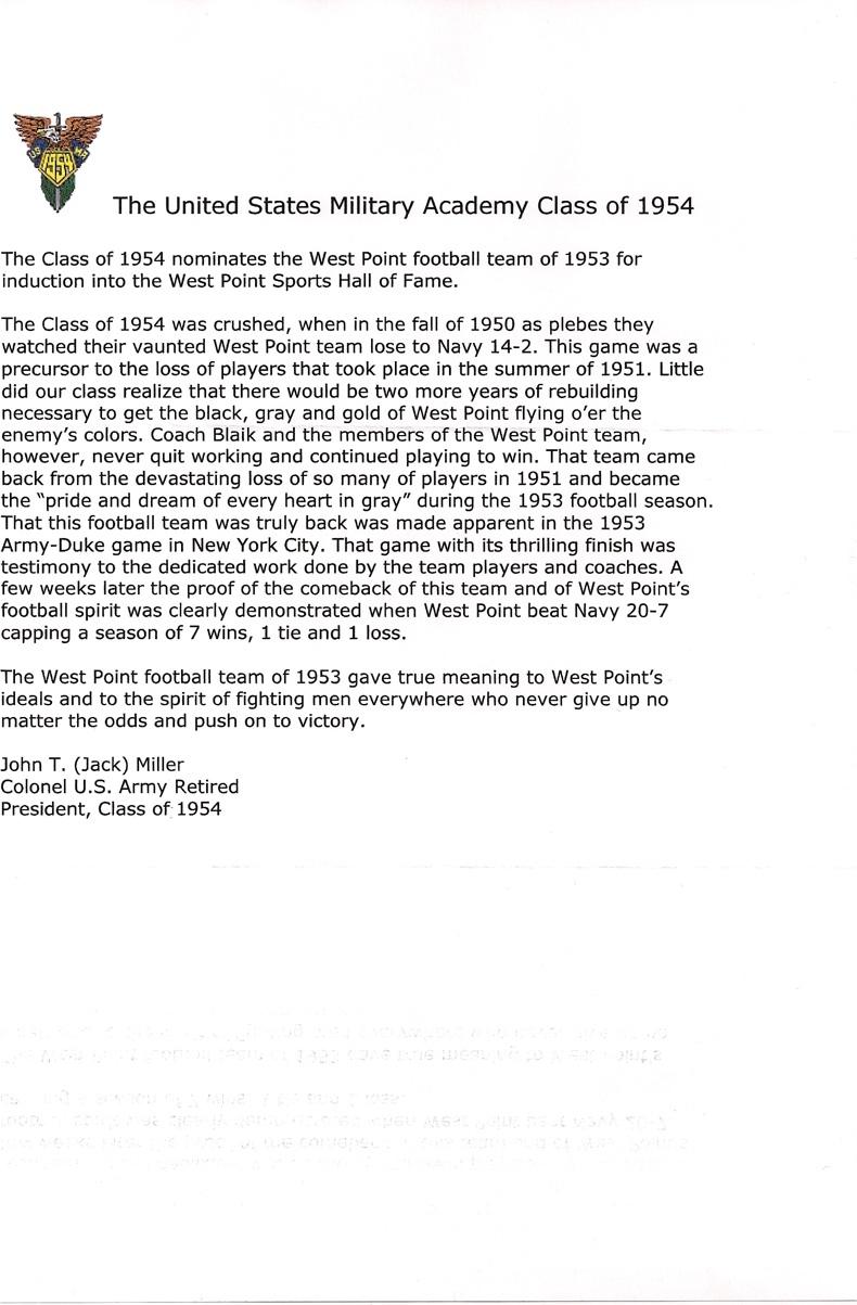 class nomination letters  u0026 bob mischak u2019s letter  u00ab for what