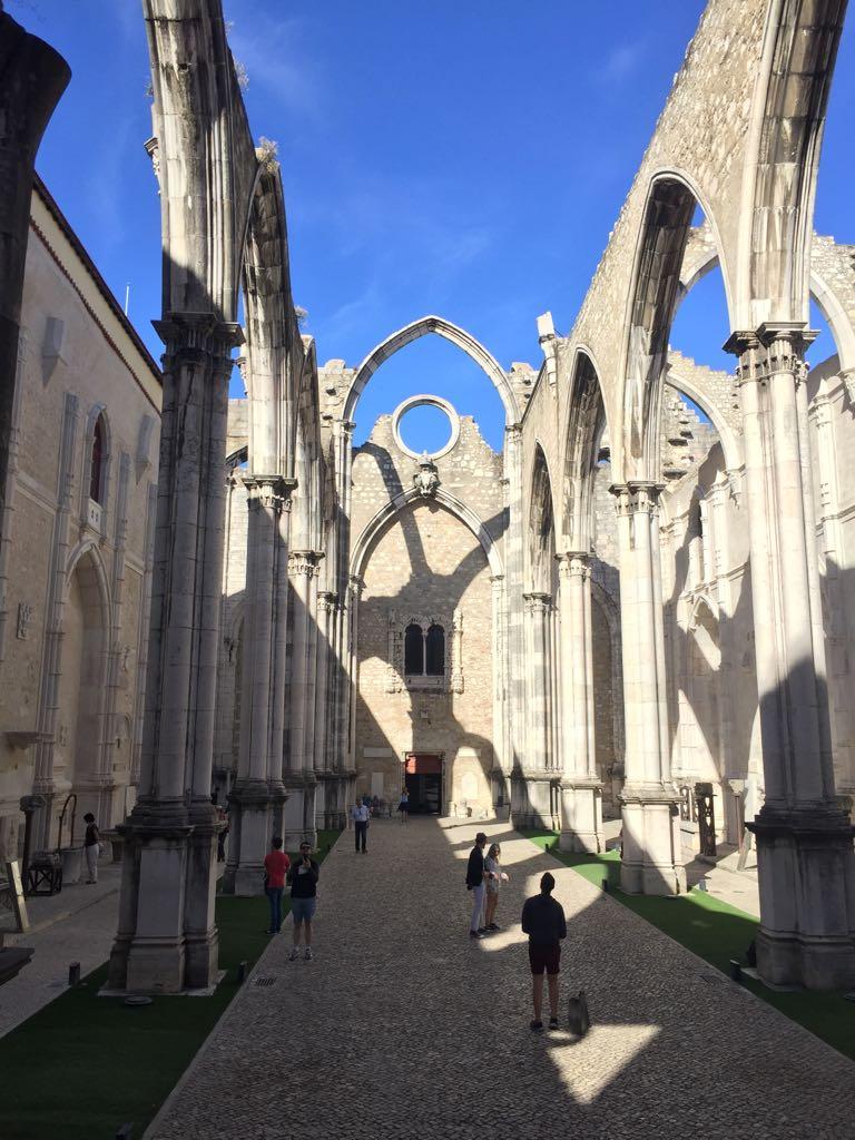 Portugal Wine Travel Guide. Lisbon. Inside the church