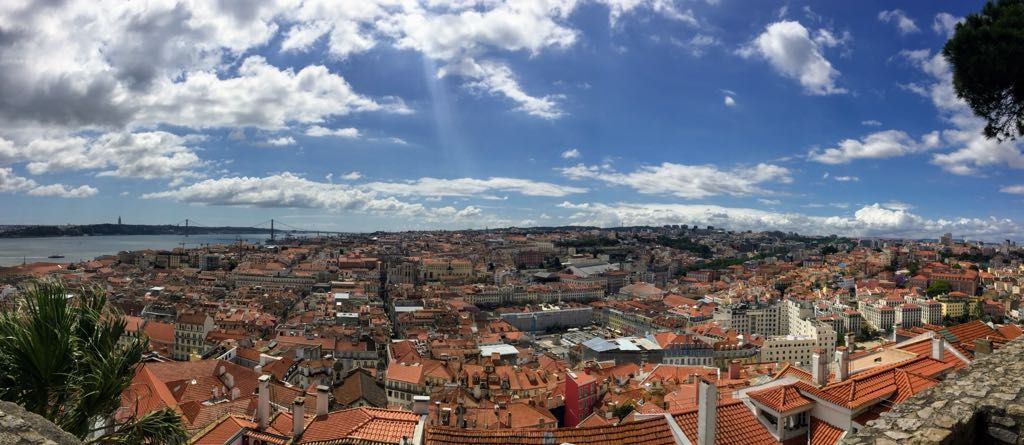 Portugal Wine Travel Guide. Lisbon City View