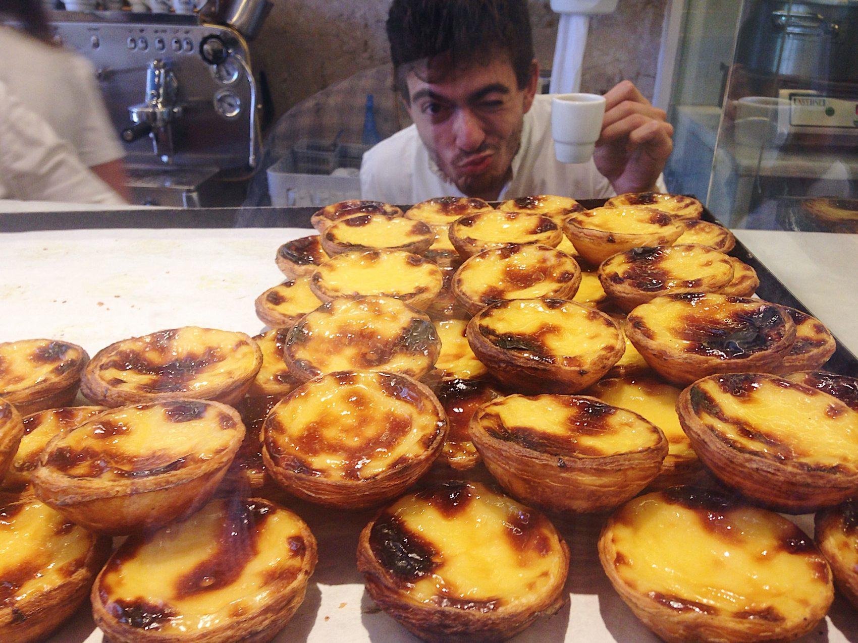 Portugal Wine Travel Guide. Pastel Da Nata pastry