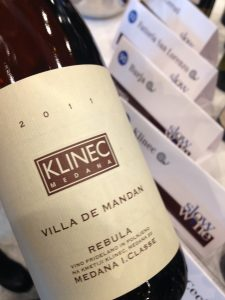 Klinec Rebula, Orange Wine from Slovenia