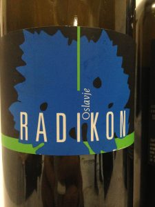 Radikon Oslavje, Orange Wine from Friuli-Venezia-Giulia, Italy