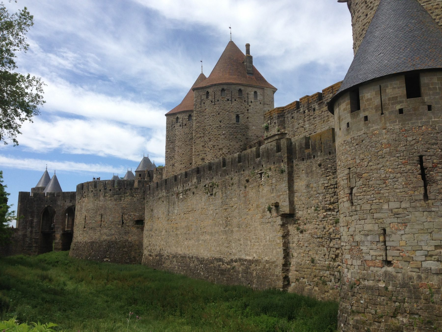 The Castle of Carcassonne