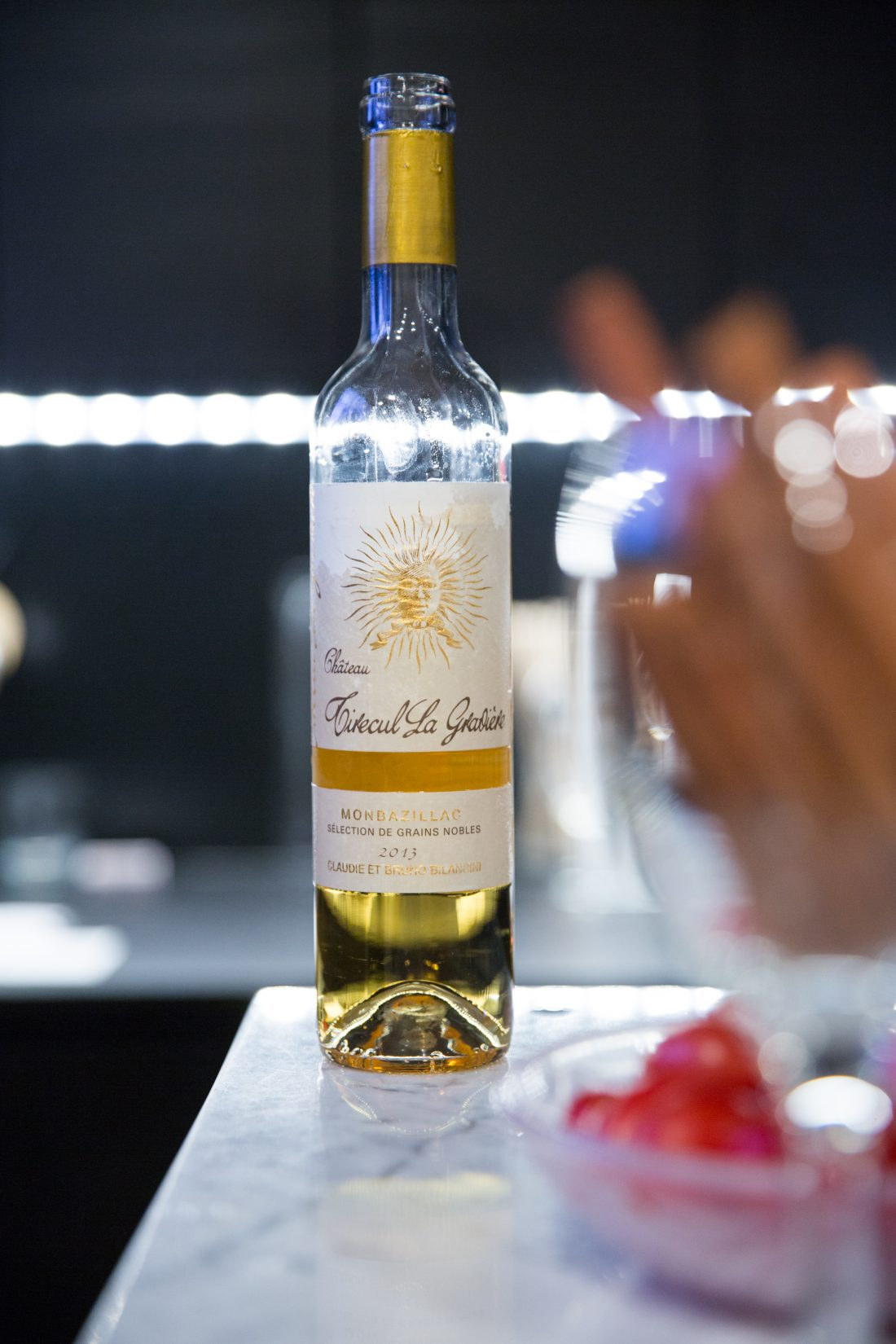 2013, Cuvée Château Tirecul La Gravière, Monbazillac AOP; Photo Credit Lydia Lee Photography