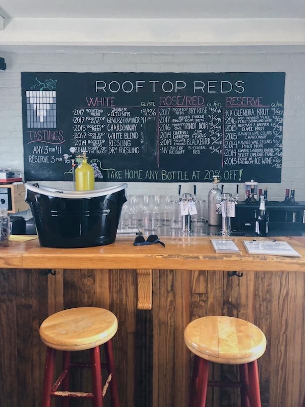Rooftop Reds. Wine Bar