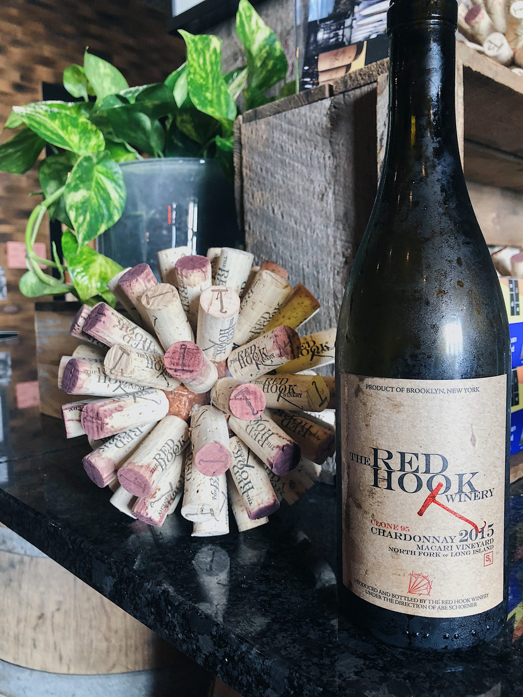 2015 Macari Vineyard Chardonnay by Abe Schoener