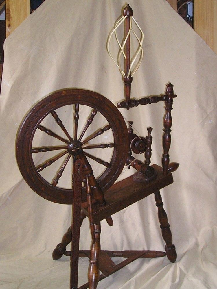 Spinning wheel repairs (3/3)