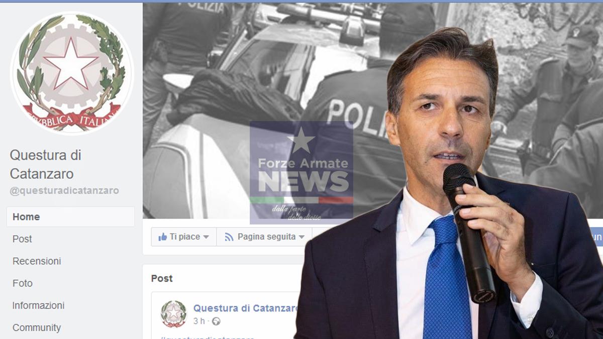 Catanzaro, la Questura è su facebook. Plauso di Giuseppe Brugnano (Fsp).