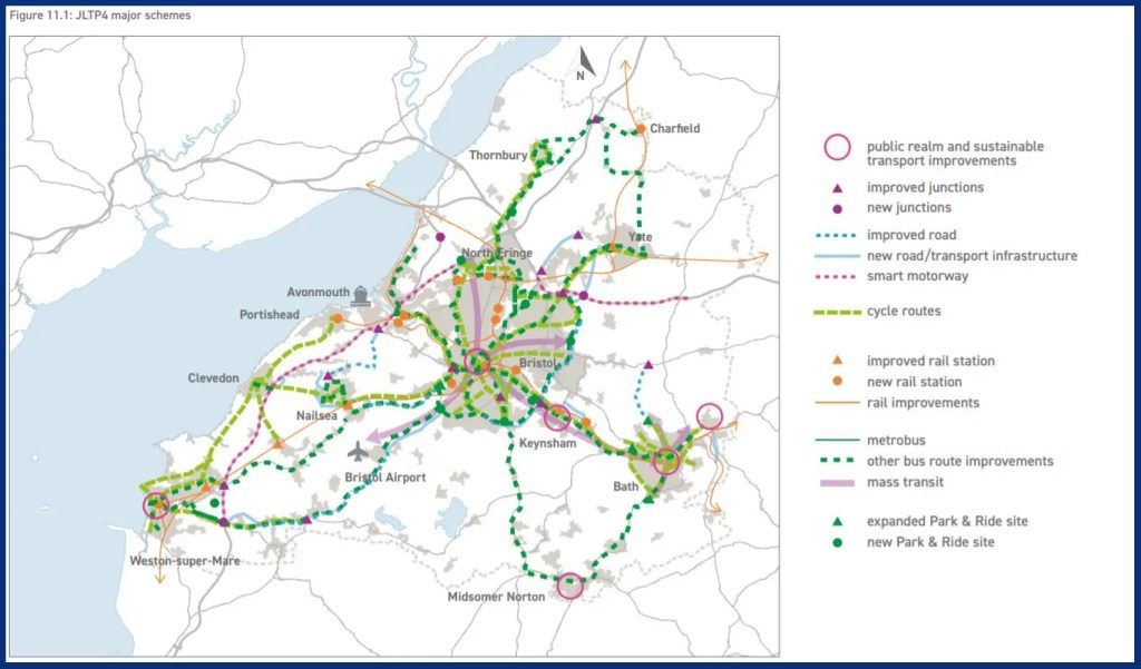 JLTP4 January 2020 - Major Schemes